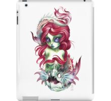 mermaid girl from mars iPad Case/Skin