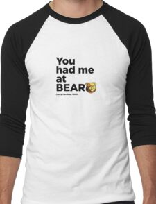 ROBUST Bear Jerry quote Men's Baseball ¾ T-Shirt