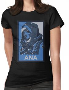 Ana HOPE Propaganda Womens Fitted T-Shirt