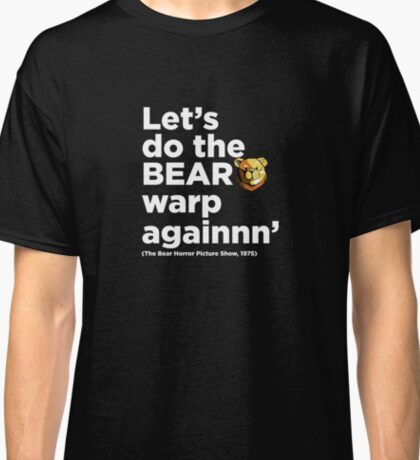 Robust Bear Rocky quote white Classic T-Shirt