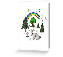 Cute Nature Scene Greeting Card