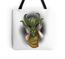 Trick or Treaters - Little Demon Tote Bag