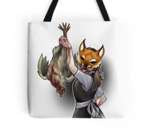 Trick or Treaters - Fox in the Hen House Tote Bag