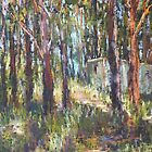 Gum Scrub - plein air paint out by Terri Maddock