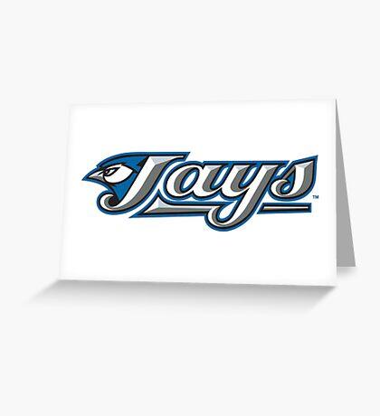 toronto blue jays Greeting Card