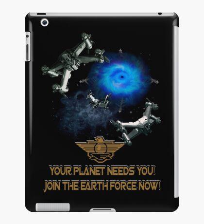 Planet Earth Needs YOU iPad Case/Skin