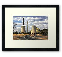 Loy Yang Power Station Framed Print