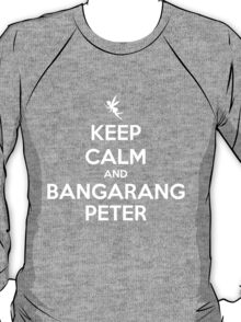 KEEP CALM - Keep Calm and Bangarang Peter // HOOK T-Shirt