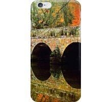 Fall Over The Bridge iPhone Case/Skin