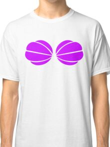 Mermaid Shell Bra Classic T-Shirt