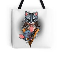 Trick or Treaters - Cat and Mouse Tote Bag