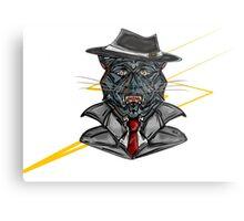 Corporate Cat Metal Print