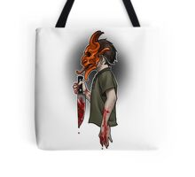 Trick or Treaters - The Devil made me do it Tote Bag