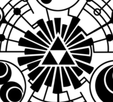 Legend of Zelda TRIFORCE Sticker