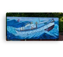 Stormy/Newport Canvas Print