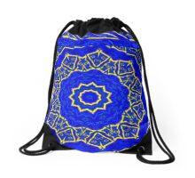 The result of blending religions imagination Drawstring Bag