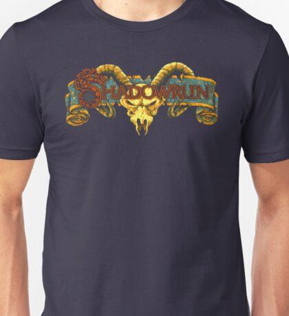 Shadowrun (Genesis Title Screen) Unisex T-Shirt