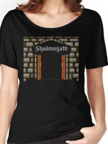 Shadowgate (NES Title Screen) Women's Relaxed Fit T-Shirt