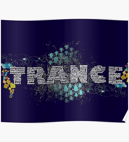 Trance djs & producers Poster