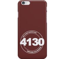 4130 Cromo iPhone Case/Skin