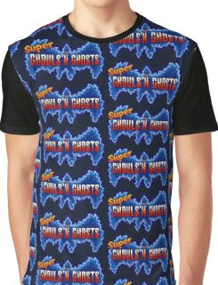 Super Ghouls 'n Ghosts (SNES Title Screen) Graphic T-Shirt