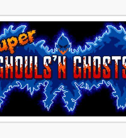 Super Ghouls 'n Ghosts (SNES Title Screen) Sticker