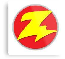 Toy Story - Zurg Logo Metal Print
