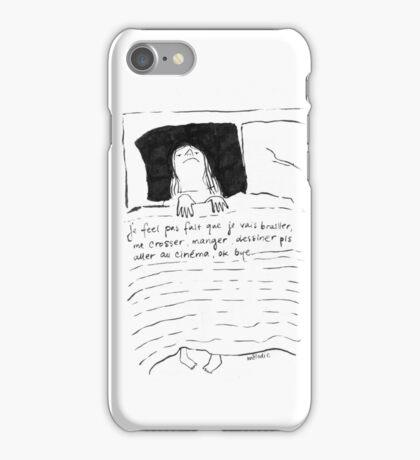 Je feel pas. iPhone Case/Skin