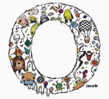 IMOK Letter O Kids Tee