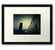 Vintage Abandoned House 5 Framed Print