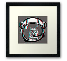 EARTH TO KITTY.  Framed Print