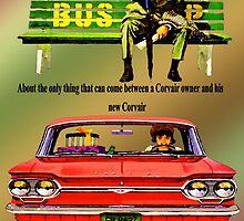 1964 Corvair Advertisement by Mike Pesseackey (crimsontideguy)