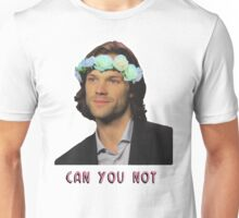 can u not // jared padalecki Unisex T-Shirt