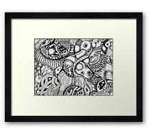 Parasites 001 Framed Print