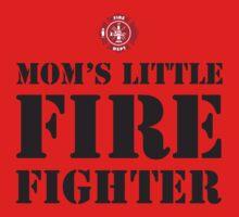 MOM'S LITTLE FIREFIGHTER - 2 One Piece - Short Sleeve