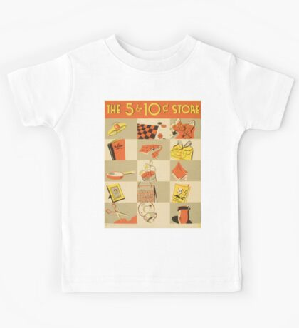 Vintage poster - Five and Dime Kids Tee