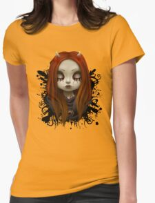 Haunted Womens Fitted T-Shirt
