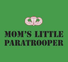 MOM'S LITTLE PARATROOPER One Piece - Short Sleeve