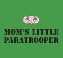 MOM'S LITTLE PARATROOPER Kids Tee