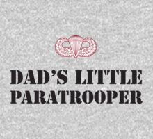 DAD'S LITTLE PARATROOPER One Piece - Long Sleeve