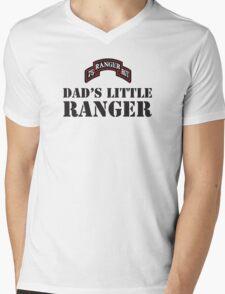 DAD'S LITTLE RANGER Mens V-Neck T-Shirt