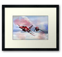 Reds Arrows Pass  Framed Print