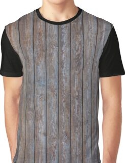 Vintage Wood background - photo wallpaper Graphic T-Shirt