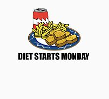 Diet Starts Monday Unisex T-Shirt