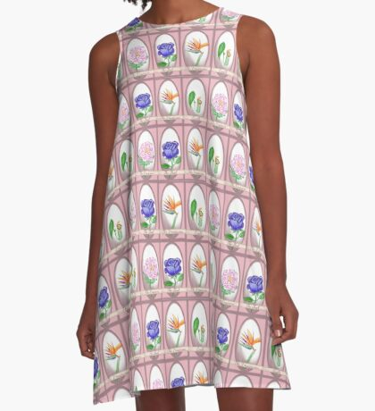 Tarot Card Pattern A-Line Dress