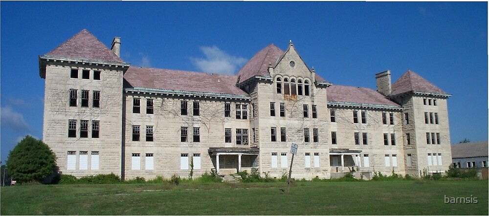 *State Hospital for the Incurable Insane AKA Bowen Building* - SERIES 1 by barnsis