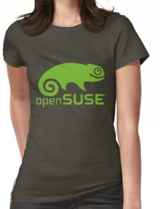 openSUSE LINUX Womens Fitted T-Shirt