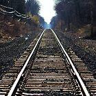 Railroad Tracks 1 by Gilda Axelrod
