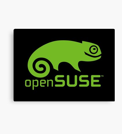 openSUSE LINUX Canvas Print