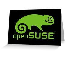 openSUSE LINUX Greeting Card